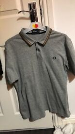 Fred Perry Large Polo Shirt