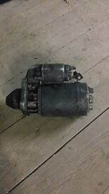 ford transit smiley starter motor and water pump