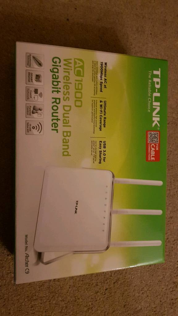 TP-Link AC1900 cable router