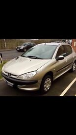 Peugeot 206, Very Good Condition, 1.1 Petrol