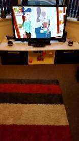 Light up High gloss TV stand/unit