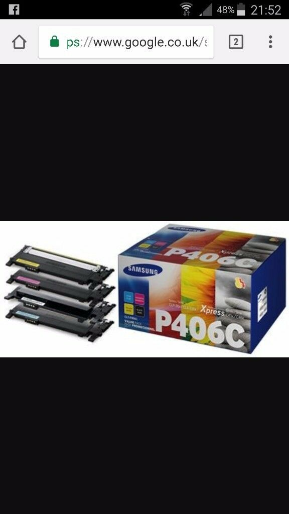 Samsung P406 C cartridge pack for sale