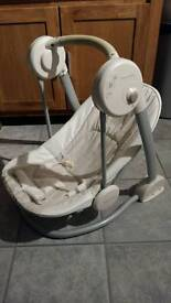 MAMAS AND PAPAS swinging musical chair - good condition