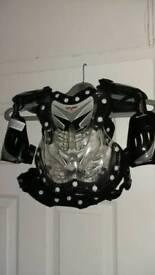 Child's motorbike body armour