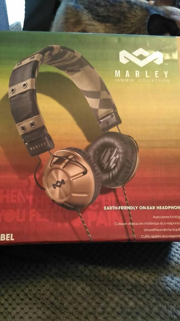 Marley Jammin Collection Headphones
