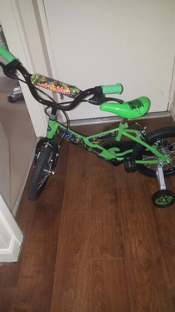 TMNT Turtles Bike
