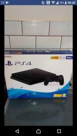 Brand new in box PS4 with destiny game