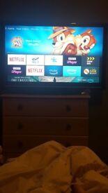 """40"""" sharp tv no remote"""