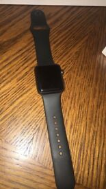 Apple Watch S2 38mm space grey - mint condition