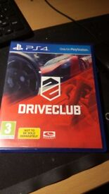 Playstation 4 Driveclub