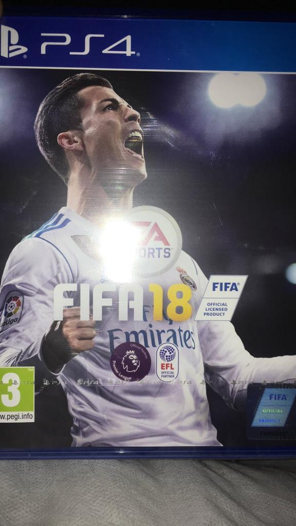 New in wrapper fifa 18 ps4