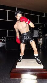 Boxing legend Roberto durran hands of stone boxing figurine