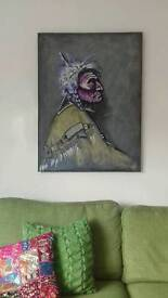 Original painting Native American
