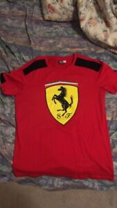 Puma x ferrari t shirt size medium