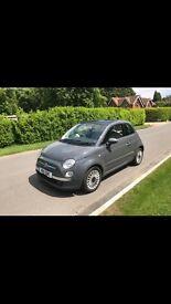 Fiat 500 1.2 lounge start stop low mileage £4650