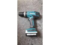 Makita HP347DWE Hammer Drill Driver with 2 x Batteries