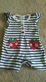 Baby girl romper 0-3 month