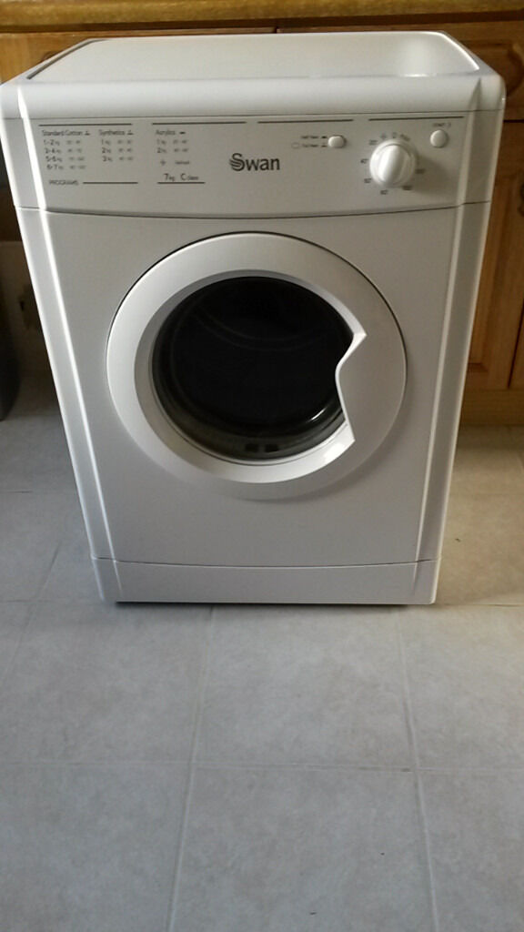 Vented Tumble Dryer In Excellent Condition Swan STV407W Same As An Indesit 7Kg