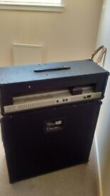 Crate amp - Flex 120h - and Speaker Cabinet