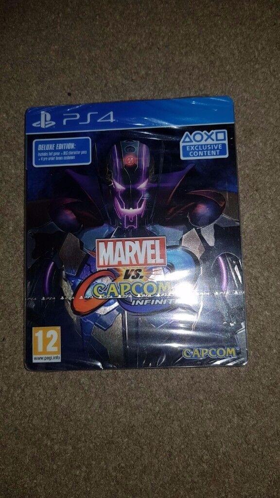 Marvel vs Capcom Infinite Deluxe Steelbook Edit (PS4)