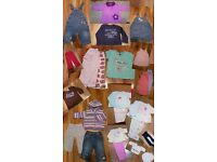 Baby Girl Gorgeous 6-9 months clothes bundle over 20 pieces Next and other brands. Grab a Bargain!