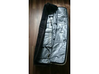 Snowboard Boots (size 9) and Snowboard Bag (160cm)