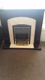 Nice fire and surround