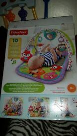 Baby play gym forest fisher price