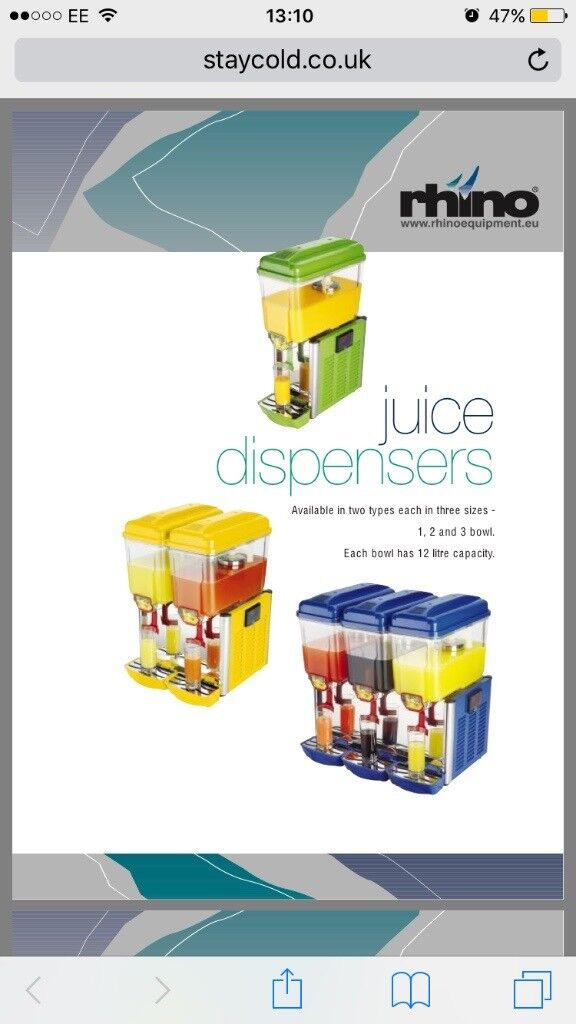 Rhino juice dispenser