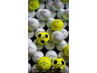 100 Callaway golf balls good as new mint condition