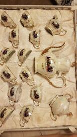 Tea set - 12 cups