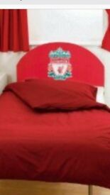 Liverpool F.C. single bed and mattress