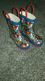 Marvel wellies infant size 6