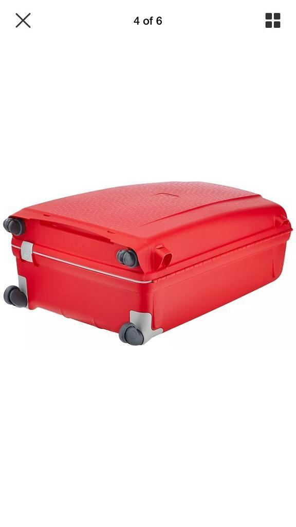 6a8b10fe6 Samsonite Aeris Spinner Red Suitcase new | in Wavertree ...