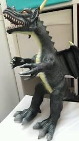 Huge dragon toy