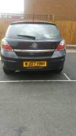 Vauxhall astra 1.6 black petrol 07538186666