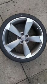 Audi a1 alloy and tyre...perfect alloy and bridgestone tyre with 6 mm