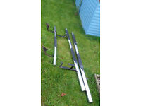 MK7 Ford Transit Chrome Rear & Side Bars / Steps