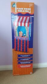 Early Learning Centre Stage door Finger and Hand Puppet Theatre. Fabric theatre fits in doorway.
