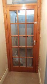 Glass Wooden Door (pine)