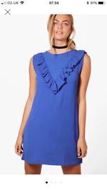 Boohoo Nicola shift dress size 10