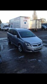 Vauxhall zafira sri xp diesel (250bhp)