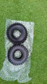 2x 3.00-4 nylon tube type tyres 🚜🚜🚜