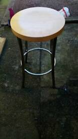 Kitchen stool, excellent condition.