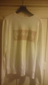 money brand Ltd edition swarkovski sweatshirt. true collectors item