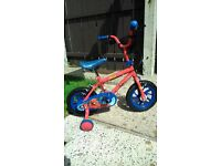 used bike in good condition. Ages 3+