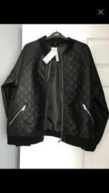 Brand news black ladies jacket size 18