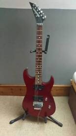 Jackson JS-30 electric guitar