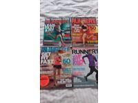 Runners Magazines x 4