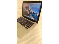 """MacBook Pro 13"""" 2.7GHz Intel Core i7, 2 hard drives (256 SSD+1TB HDD), 16 GB RAM"""